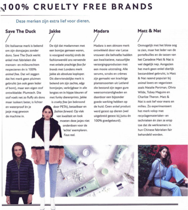 Jakke featured in the monthly magazine Feeling