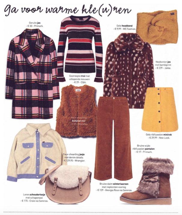 Jakke featured in Flair's Winterboek