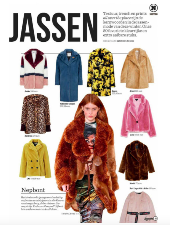 Jakke featured in Het Nieuwsblad Magazine