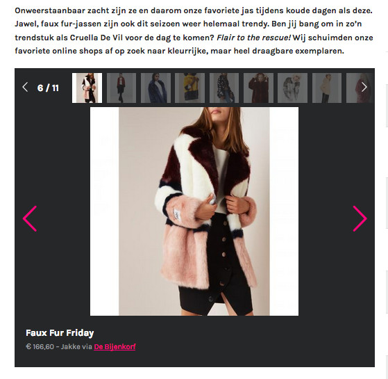 Jakke featured on Flair.be